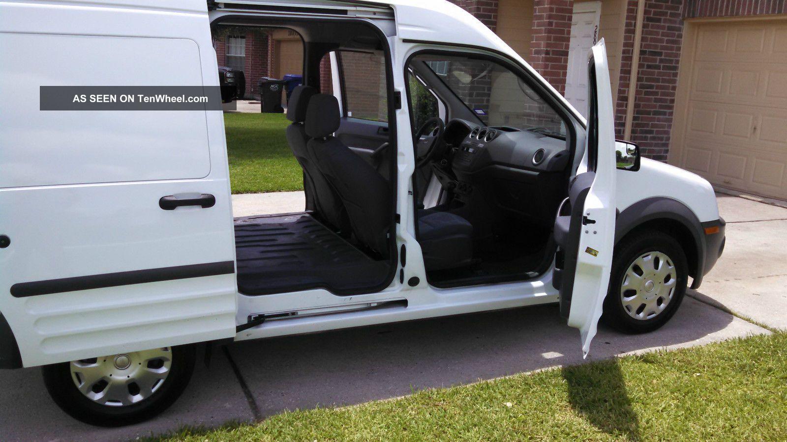 2012 Ford Transit Connect Xl Mini Cargo Van 4 Door 2 0l