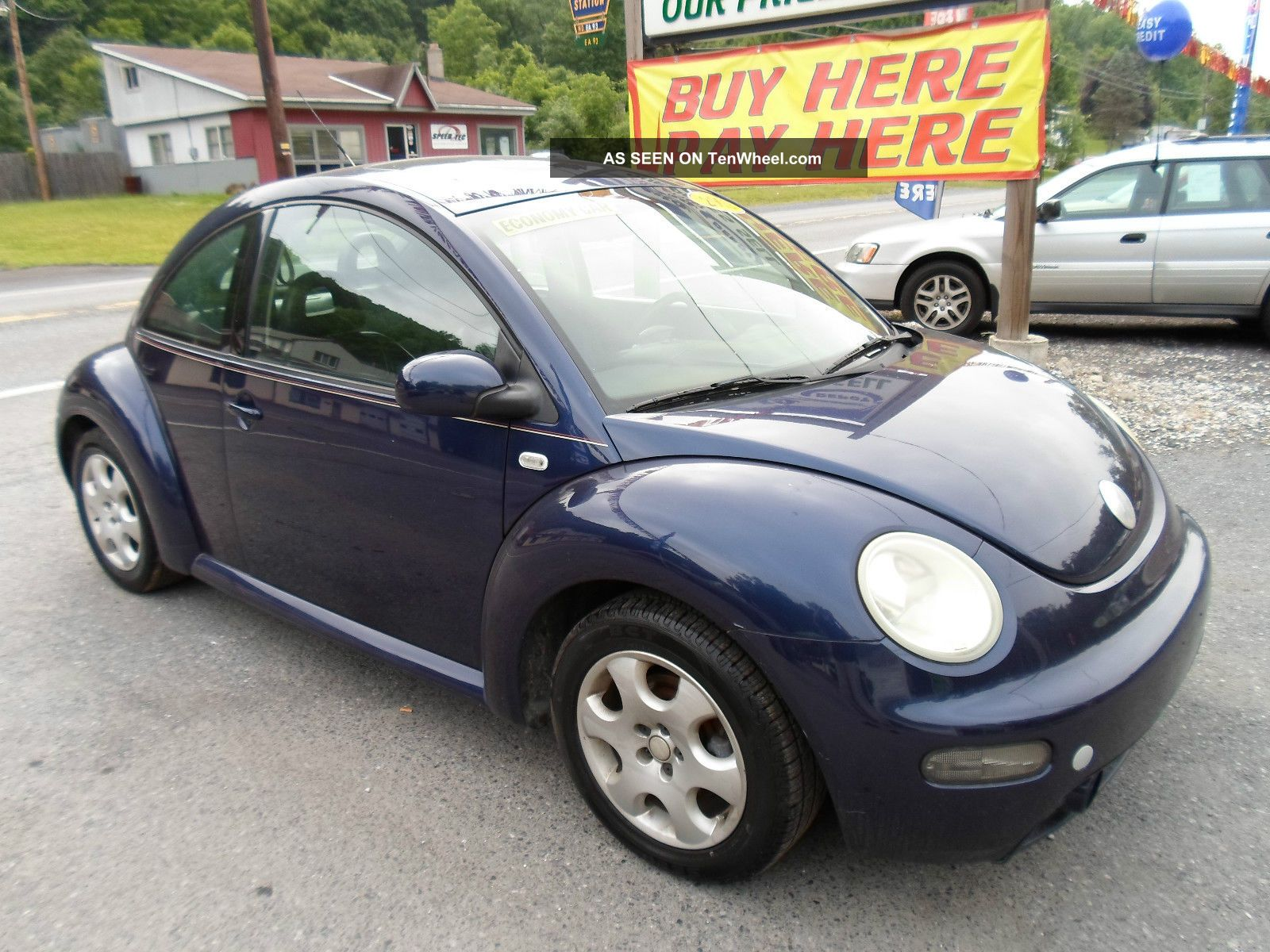 2002 Volkswagen Beetle Gls Hatchback 2 - Door 2.  0l Beetle - Classic photo