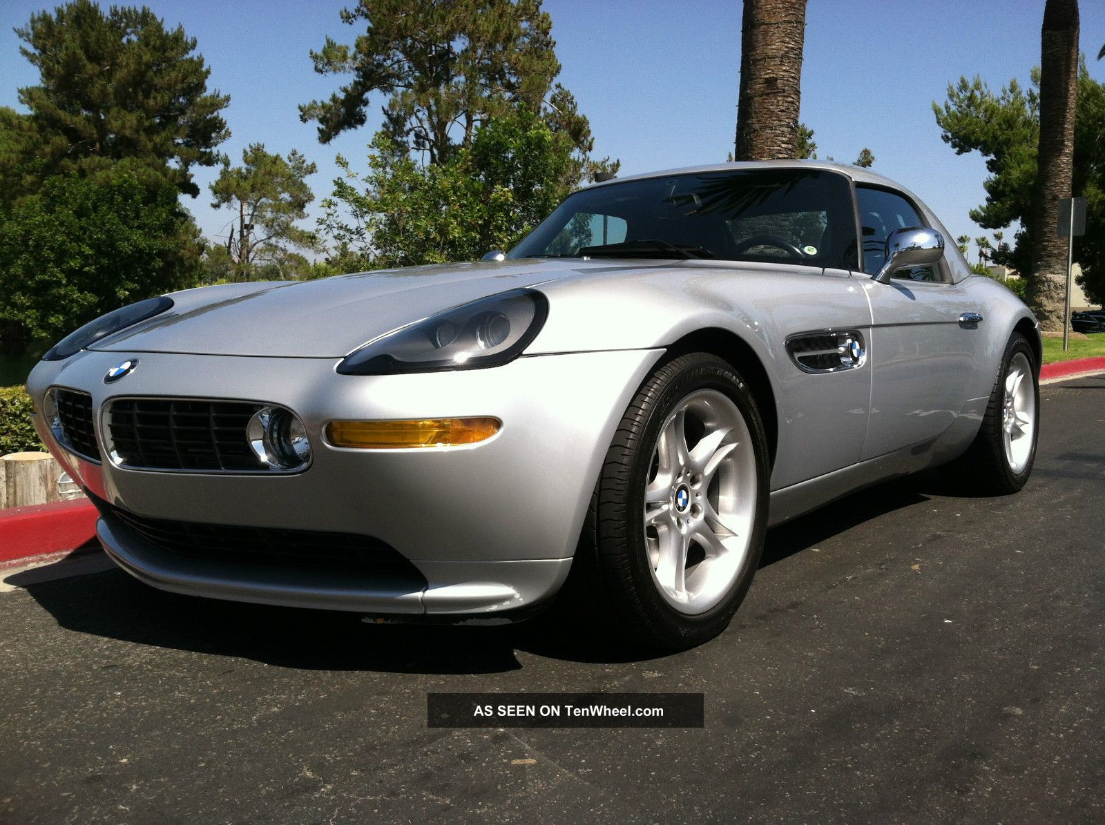 2000 Bmw Z8 Silver / Black 6 Speed Hard Top,  2 Owners Rare Car Z8 photo