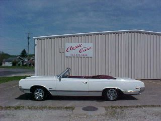 1965 Olds Cutlass Convertible photo