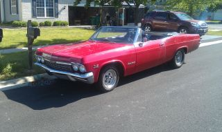 1965 Chevy Impala Convertible - photo