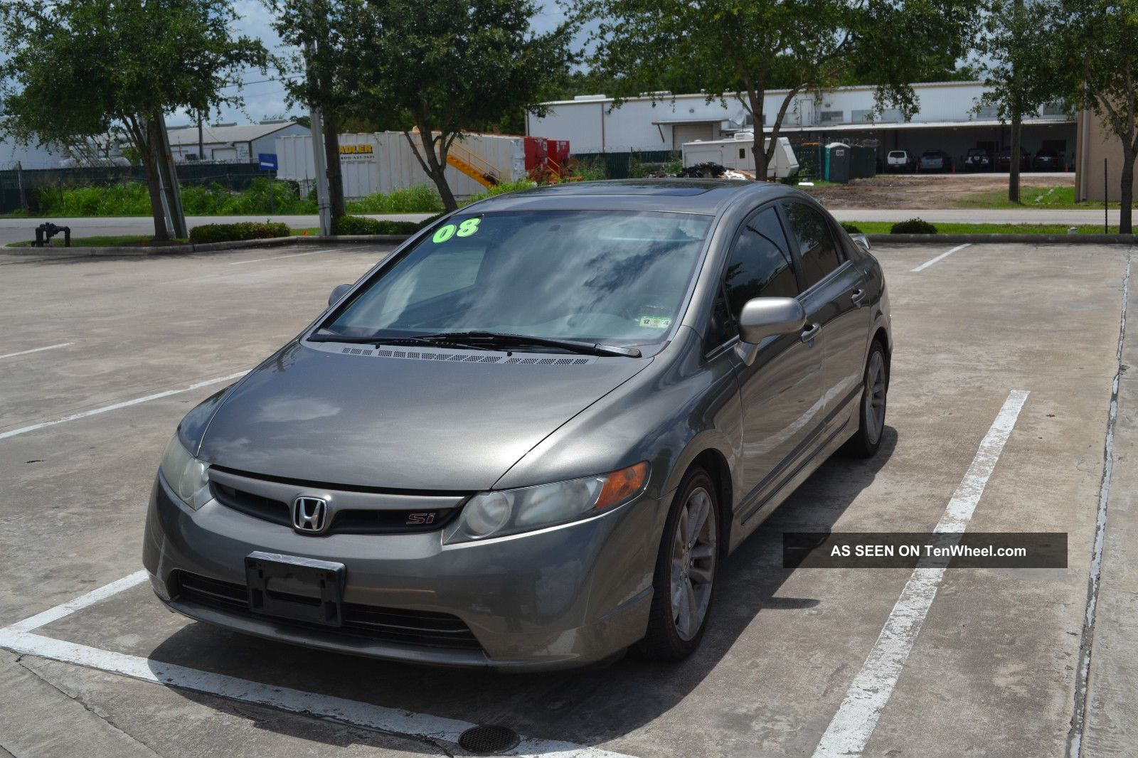 2008 Honda Civic Si Sedan 4 - Door 2.  0l Civic photo