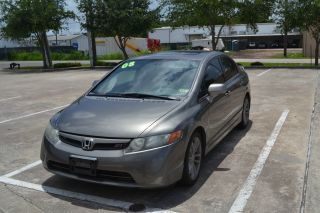 2008 Honda Civic Si Sedan 4 - Door 2.  0l photo