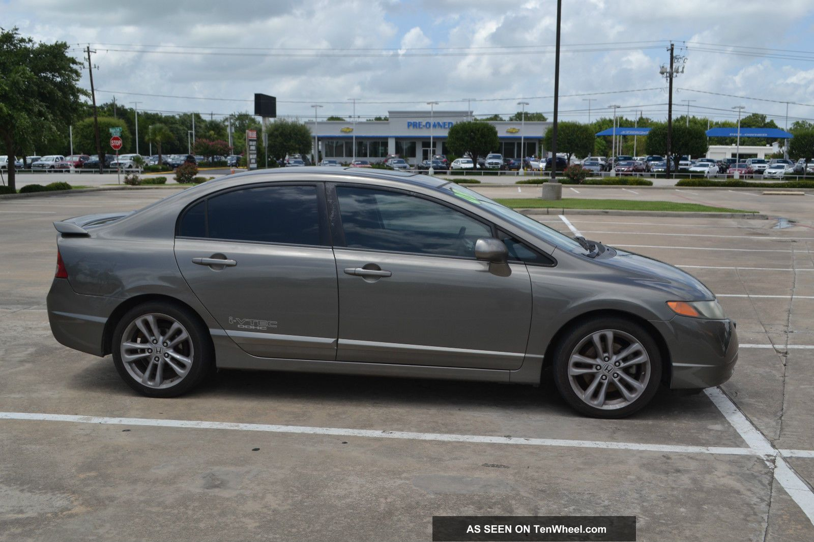 2008 Honda Civic Si Sedan 4 - Door 2. 0l