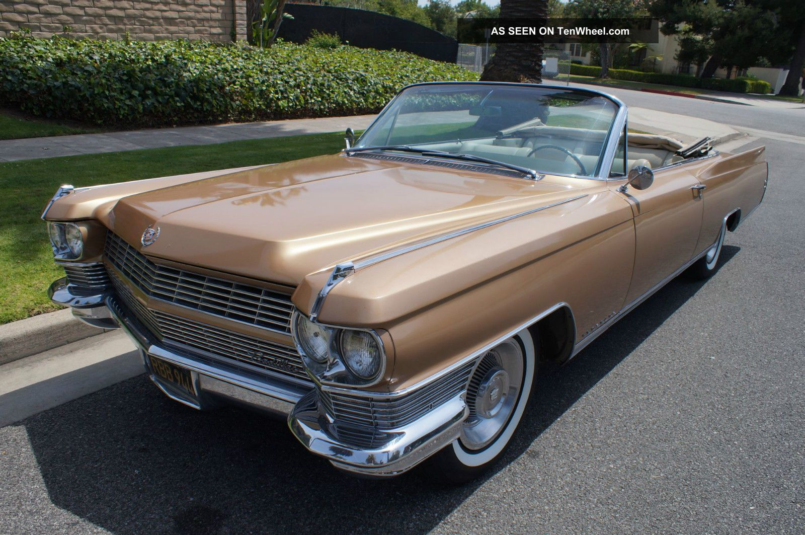 1964 California ' Black Plate ' Car - Mostly All Survivor - Rare Eldorado photo