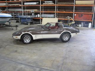1978 Silver Anniversary Edition Corvette photo