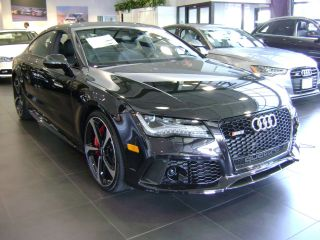 2014 Audi Rs7 Panther Black Exclusive Black Interior Rs 7 photo