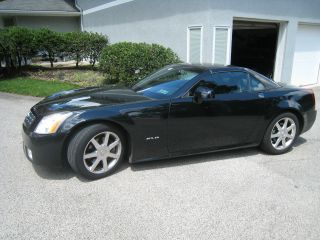 2008 Cadillac Xlr Black 2 - Door Coup Convertable photo