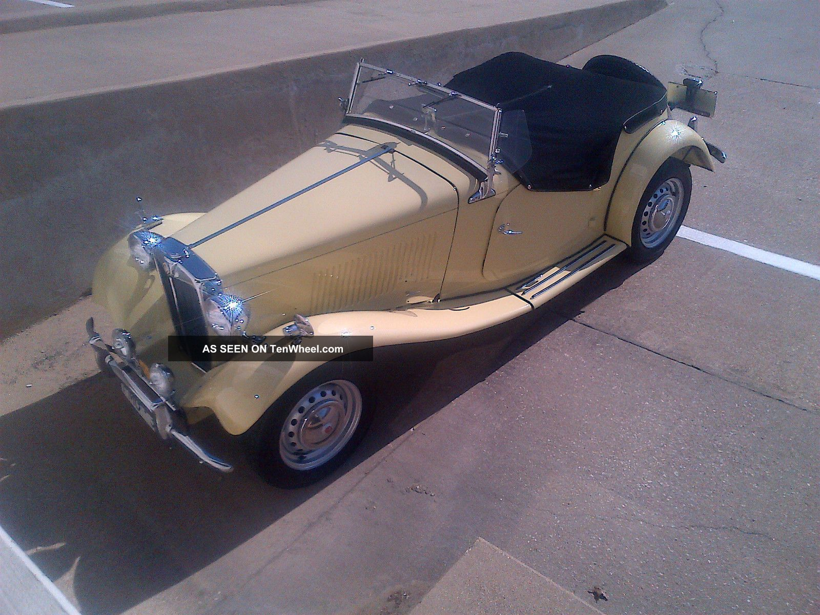 Mg - Td2 1953 1100 Mi On Frame Off,  gorgeous,  Correct,  One Of A Kind,  Wow T-Series photo