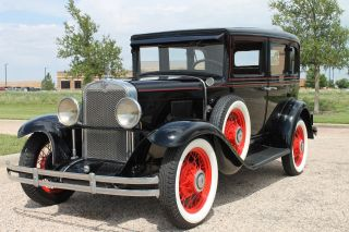 1930 Chevrolet 4dr Sedan photo