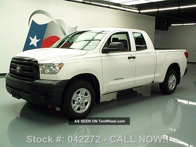 2012 Toyota Tundra Double Cab Auto 6 - Pass Bedliner 28k Texas Direct Auto Tundra photo