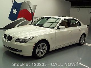 2009 Bmw 528i Sedan Automatic Alloy Wheels 68k Texas Direct Auto photo