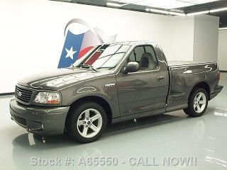 2003 Ford F - 150 Svt Lightning Reg Cab Supercharged 56k Texas Direct Auto photo