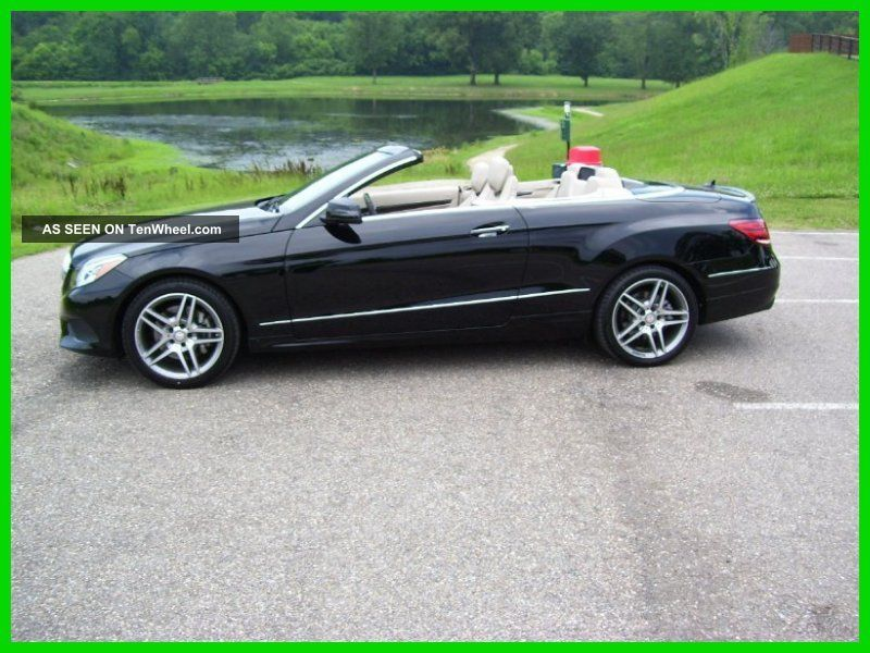 2014 E350 3.  5l V6 24v Automatic Rwd Convertible Premium E-Class photo