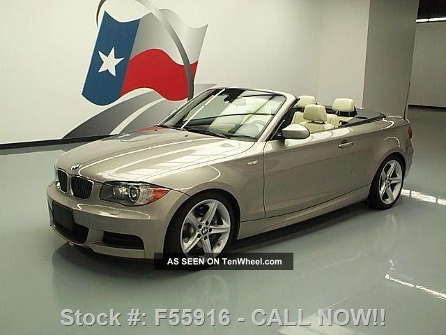 2008 Bmw 135i Convertible Turbo Auto Sport Only 56k Texas Direct Auto 1-Series photo