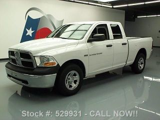 2011 Dodge Ram Quad Cab Hemi 6 - Pass Trailer Hitch 68k Texas Direct Auto photo