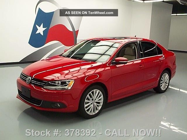 2013 Volkswagen Jetta Tdi Prem Diesel 45k Texas Direct Auto Jetta photo
