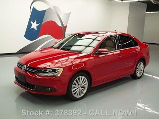 2013 Volkswagen Jetta Tdi Prem Diesel 45k Texas Direct Auto photo