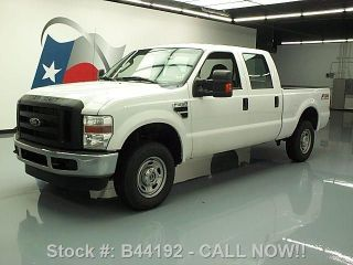 2010 Ford F - 250 Crew Fx4 4x4 Automatic 6 - Passenger 49k Texas Direct Auto photo