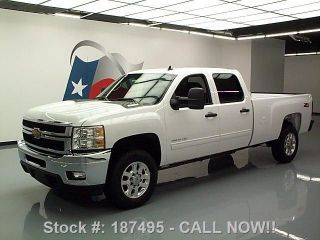 2013 Chevy Silverado 3500hd Crew Z71 4x4 Diesel Texas Direct Auto photo