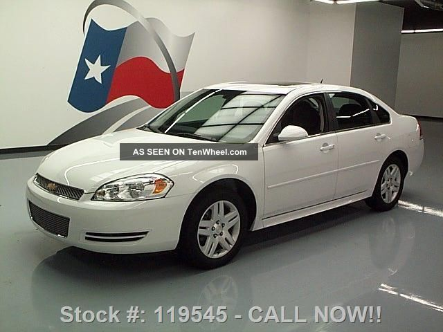 2014 Chevrolet Impala Lt Limited 3.  6l V6 1 - Owner 5k Mi Texas Direct Auto Impala photo