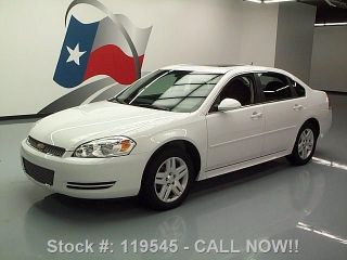 2014 Chevrolet Impala Lt Limited 3.  6l V6 1 - Owner 5k Mi Texas Direct Auto photo
