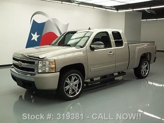 2008 Chevy Silverado Ext Cab Tonneau Cover 39k Texas Direct Auto photo