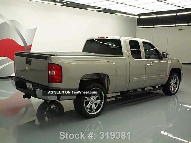 2008 Chevy Silverado Ext Cab Tonneau Cover 39k Texas Direct Auto