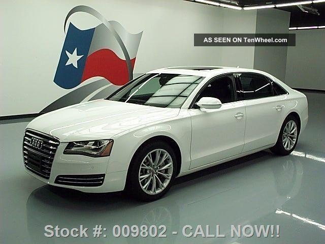 2013 Audi A8 L 3.  0t Quattro Awd 19 ' S 12k Mi Texas Direct Auto A8 photo
