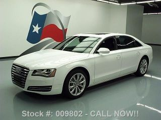 2013 Audi A8 L 3.  0t Quattro Awd 19 ' S 12k Mi Texas Direct Auto photo
