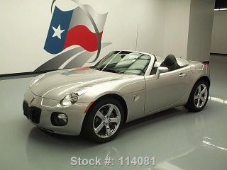 2008 Pontiac Solstice Gxp Roadster Auto 43k Mi Texas Direct Auto photo