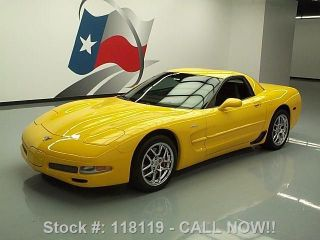2003 Chevy Corvette Z06 405 Hp 6 - Spd Hud 7k Mi Texas Direct Auto photo