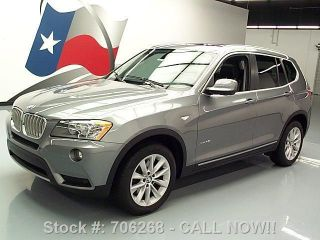 2011 Bmw X3 Xdrive28i Awd Sport Pano Roof Texas Direct Auto photo