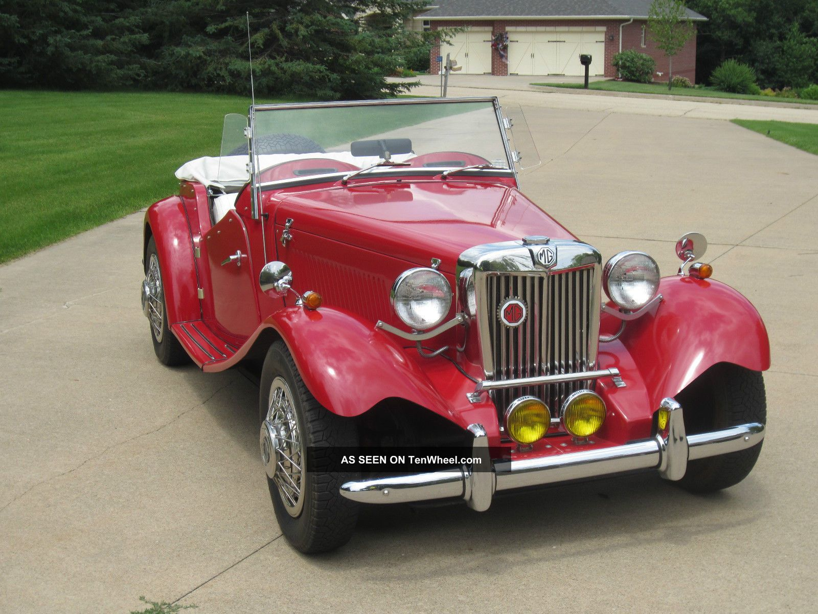 1952 Mg Td Replica (exceptional Condition) Replica/Kit Makes photo