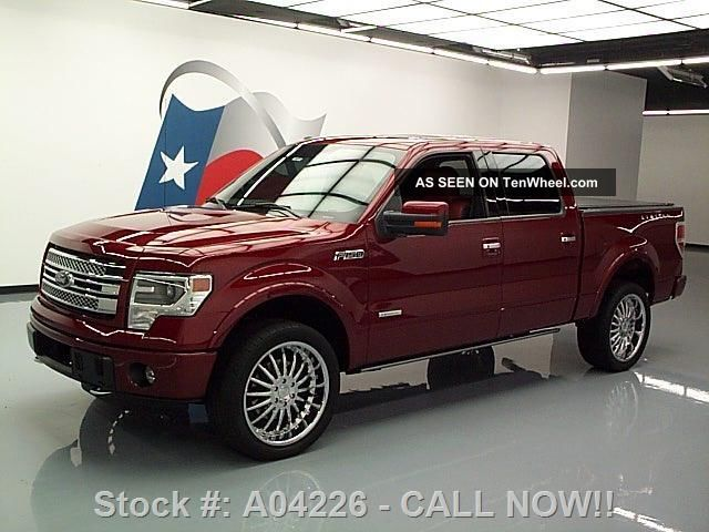 2013 Ford F - 150 Ltd Crew Ecoboost 4x4 36k Texas Direct Auto F-150 photo
