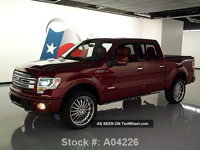 2013 ford f 150 ltd crew ecoboost 4x4 36k texas direct auto. Black Bedroom Furniture Sets. Home Design Ideas