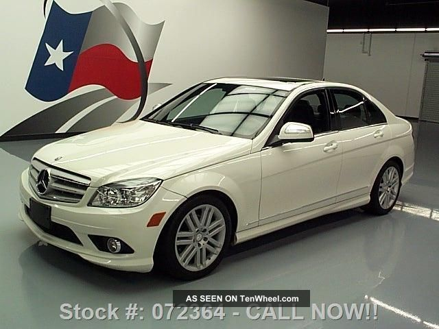 2009 Mercedes - Benz C300 Sport P1 43k Texas Direct Auto C-Class photo