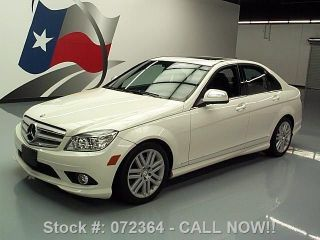 2009 Mercedes - Benz C300 Sport P1 43k Texas Direct Auto photo