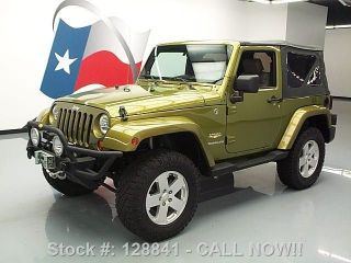 2007 Jeep Wrangler Sahara 4x4 6 - Speed Soft Top 68k Mi Texas Direct Auto photo