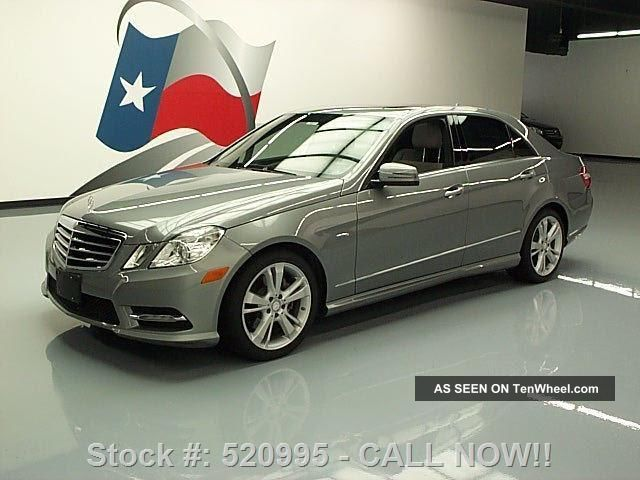 2012 mercedes benz e350 sport p1 dvd 63k mi texas direct for Mercedes benz bloomfield mi