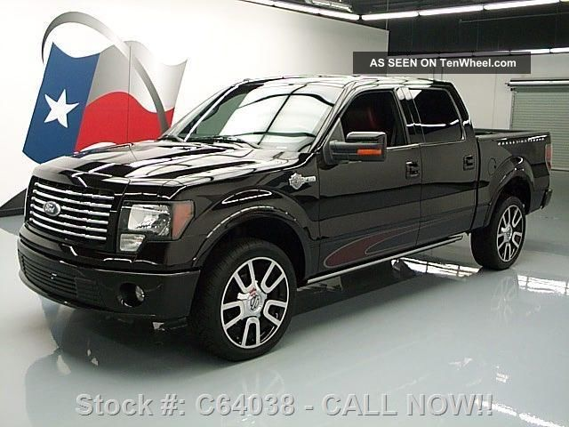 2010 Ford F - 150 Harley - Davidson Crew Awd 22 ' S 43k Texas Direct Auto F-150 photo