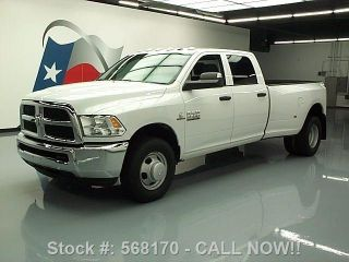 2013 Dodge Ram 3500 Crew Diesel Dually 35k Mi Texas Direct Auto photo