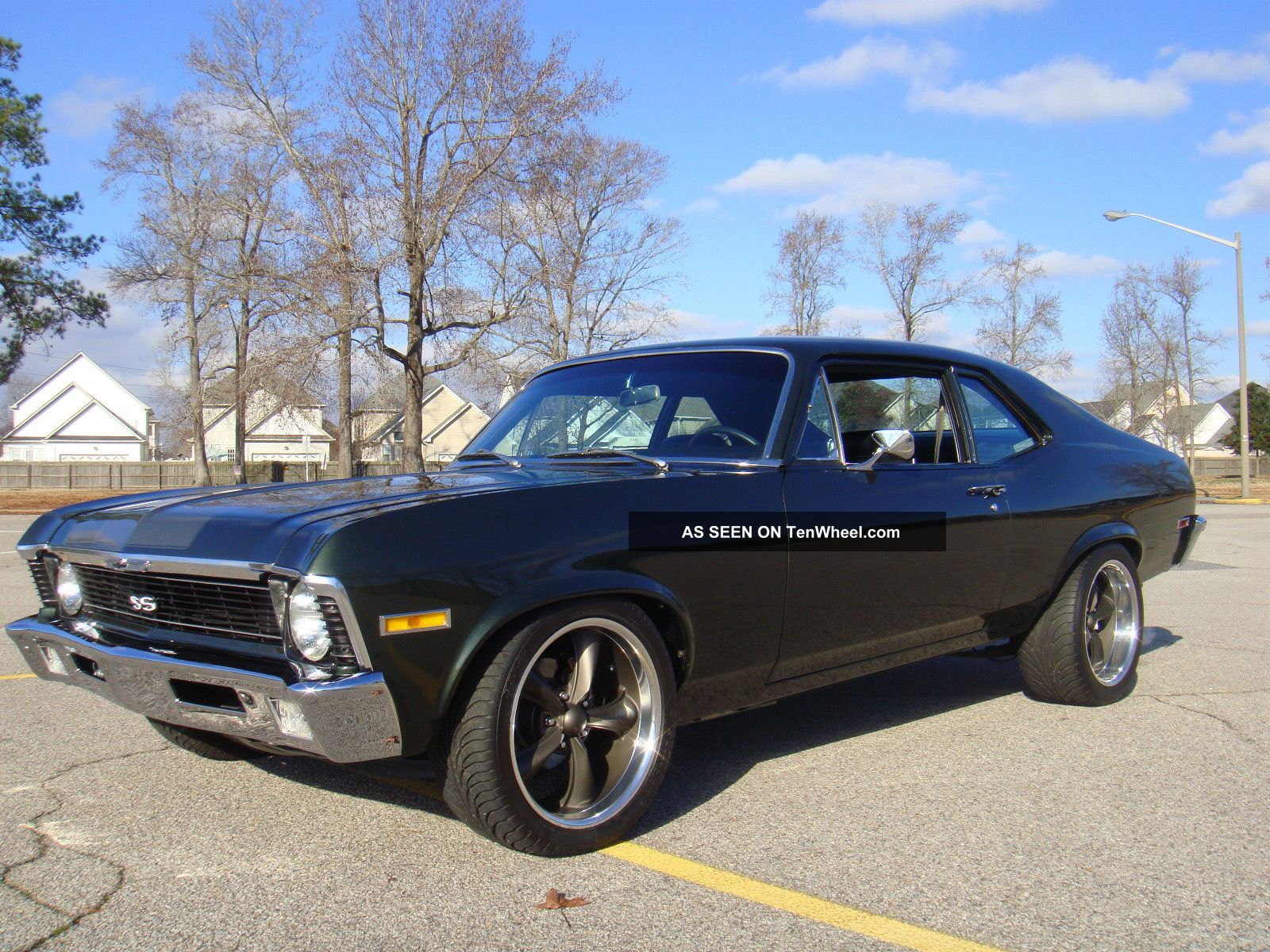 1972 Chevrolet Nova Ss Clone 396 Bb 4sp Muncie Frame Off Resto.  Show & Go Nova photo