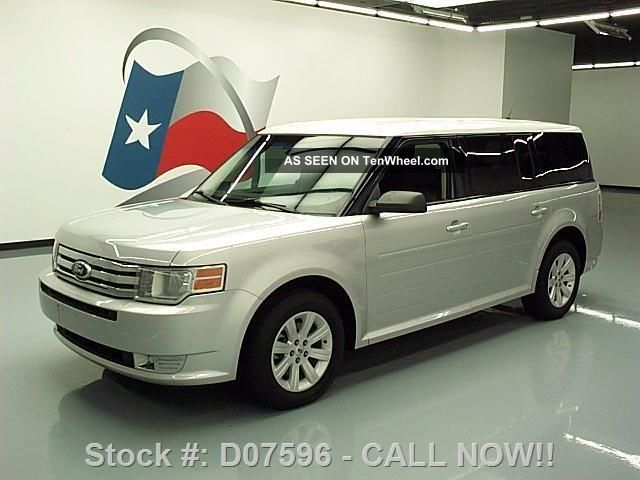 2011 Ford Flex Se 6 - Pass Cruise Ctrl Third Row Only 32k Texas Direct Auto Flex photo