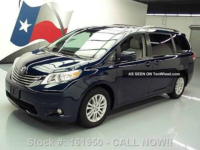 2011 Toyota Sienna Xle 8 - Pass Dvd 58k Texas Direct Auto Sienna photo