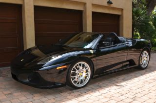 Black / Black 2006 Ferrari F430 Spider photo
