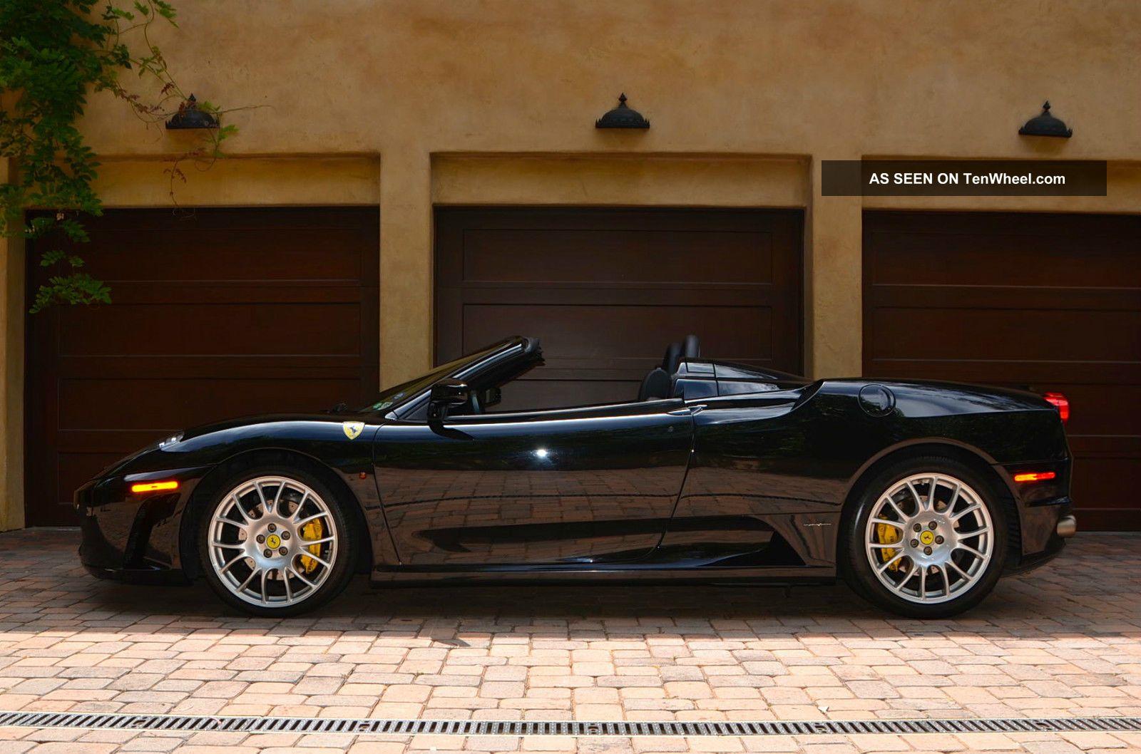Black Black 2006 Ferrari F430 Spider