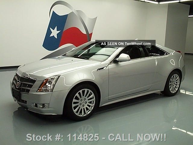 2011 Cadillac Cts Performance 3.  6 Coupe 13k Mi Texas Direct Auto CTS photo