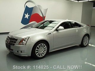2011 Cadillac Cts Performance 3.  6 Coupe 13k Mi Texas Direct Auto photo