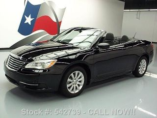 2011 Chrysler 200 Touring Convertible Alloy Wheels 60k Texas Direct Auto photo